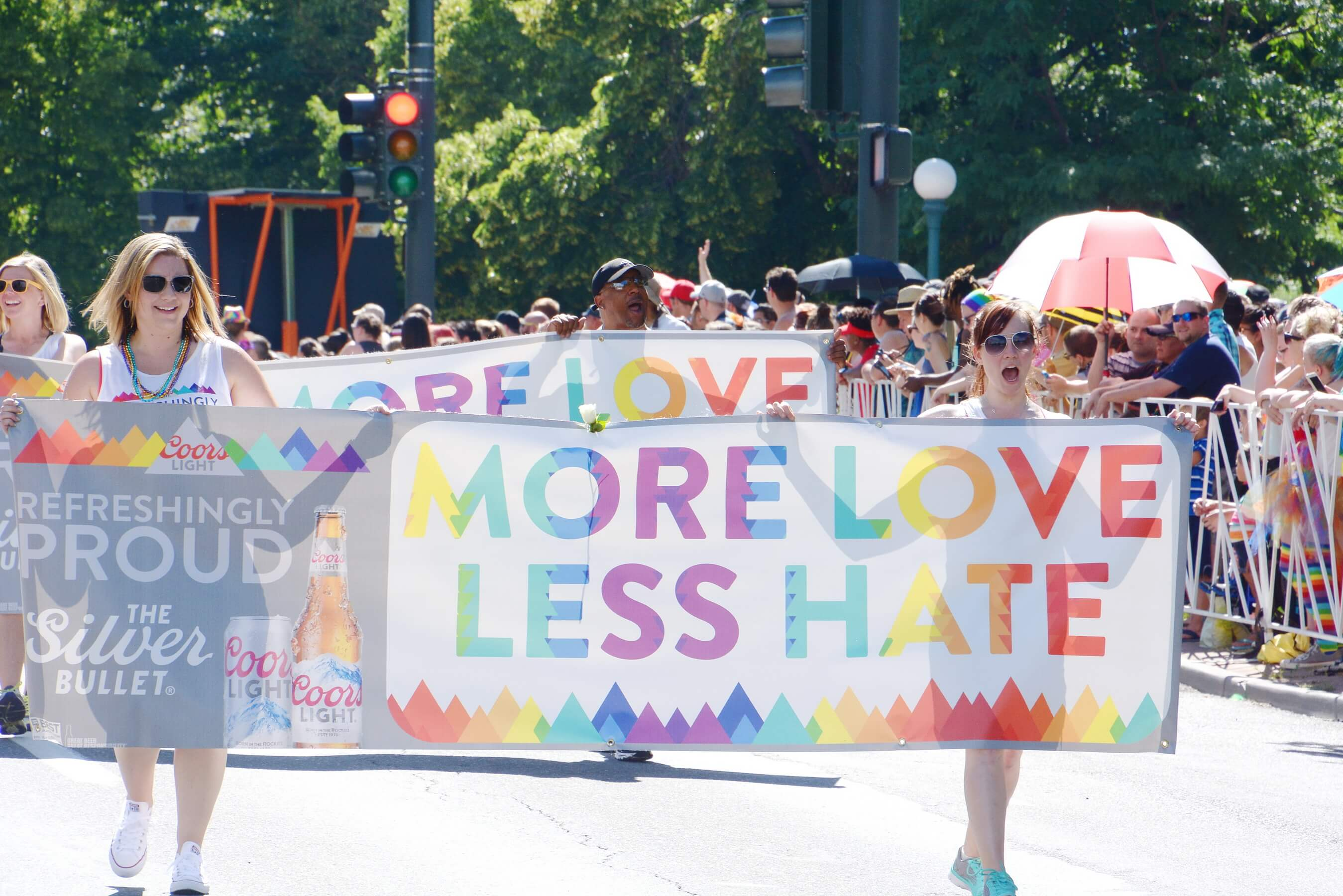 Coors Light - More Love Less Hate