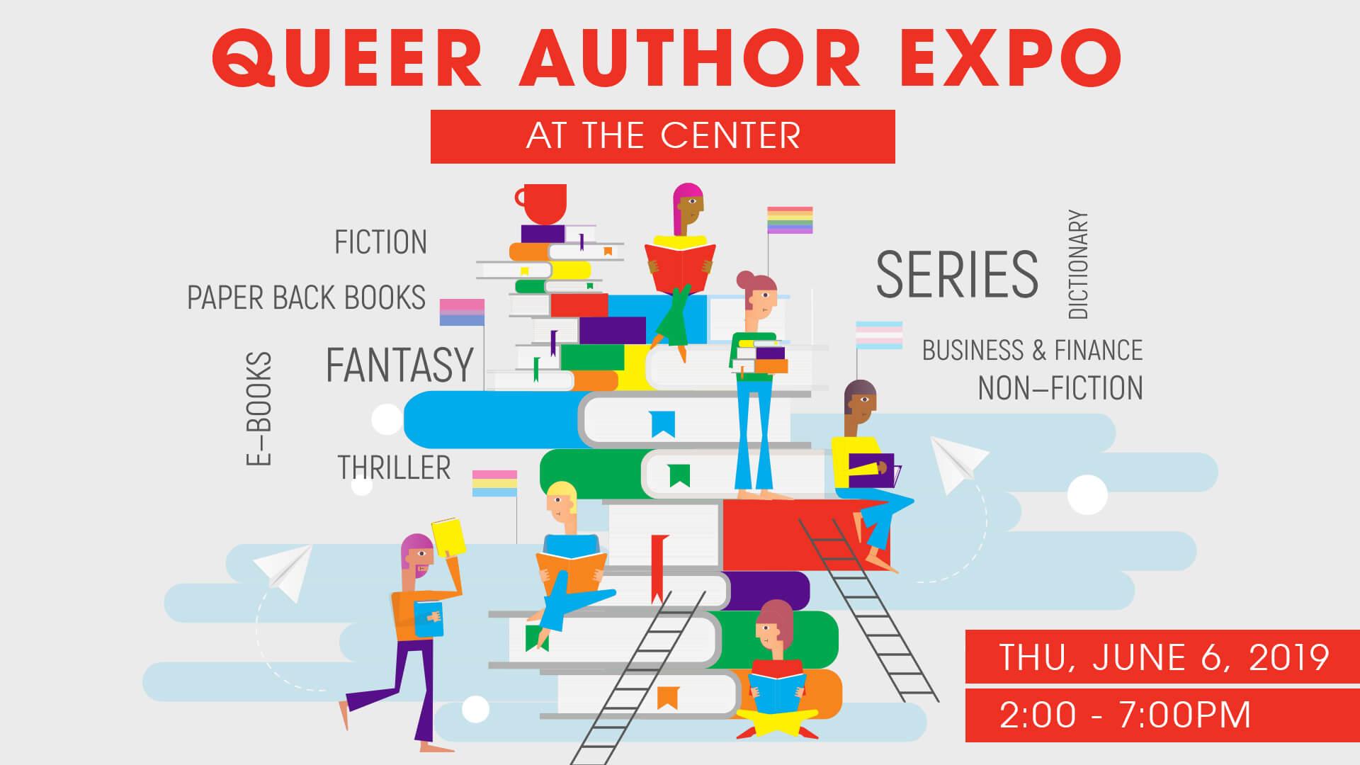 Queer Author Expo - June 6, 2019