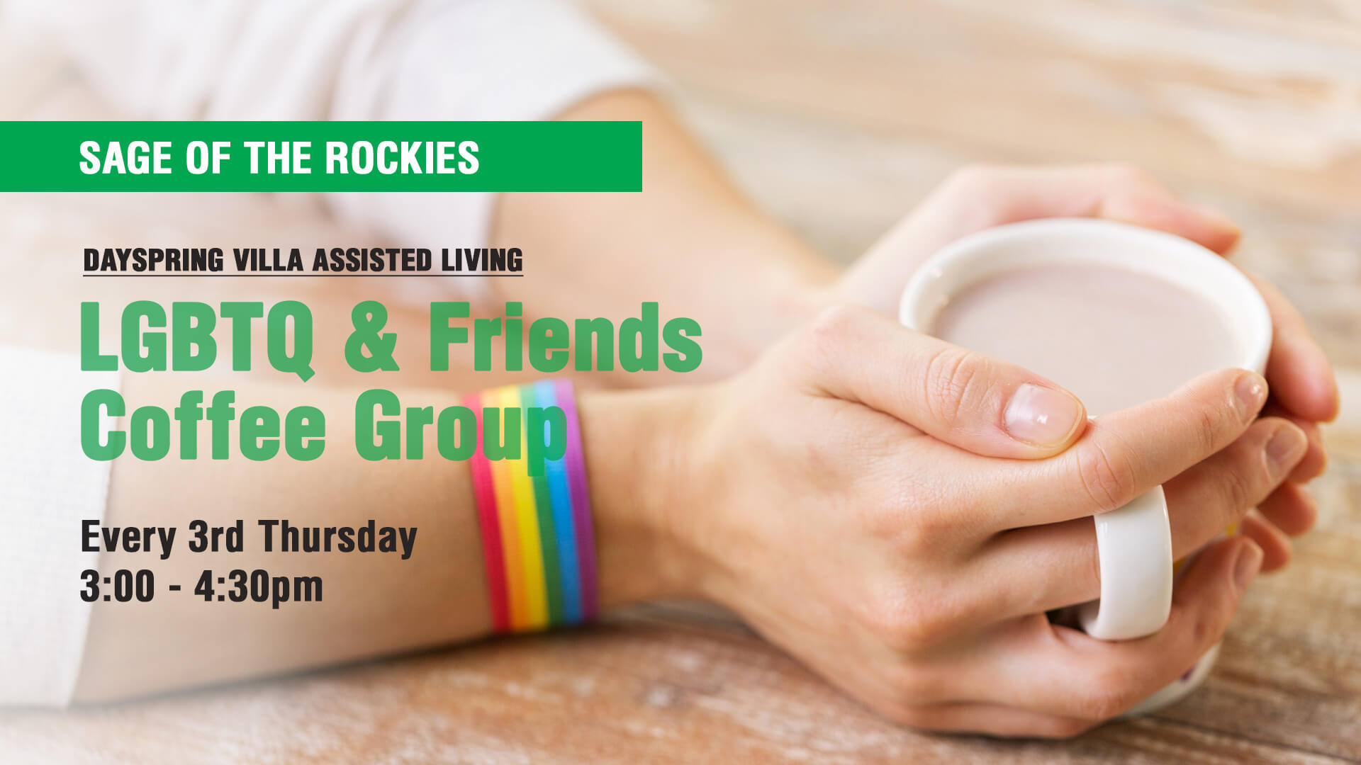 SAGE LGBTQ & Friends Coffee Group at Dayspring Villa Assisted Living