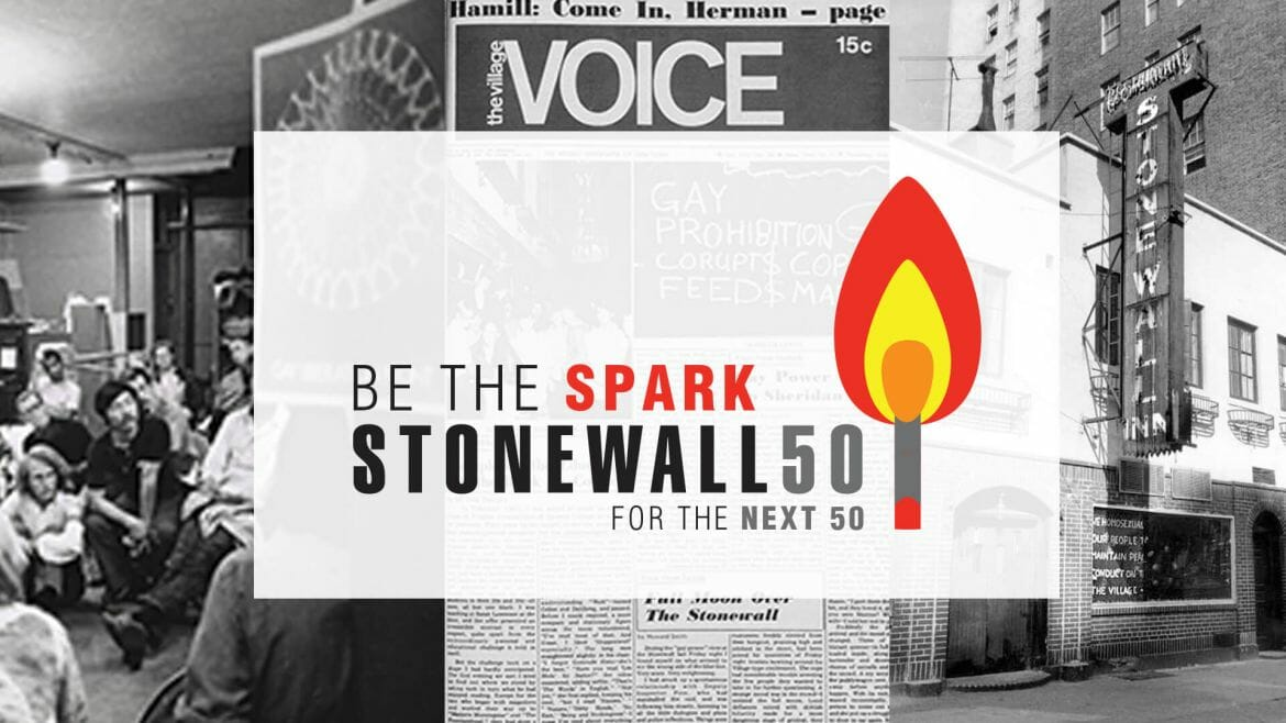 Be The Spark: Donate to the Stonewall 50 campaign