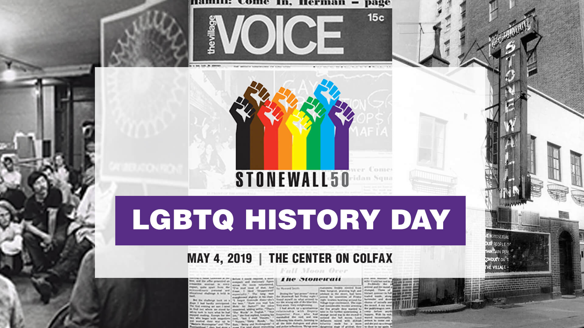 Stonewall 50 LGBTQ History Day