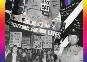 The Black Cat riot and protests in Los Angeles