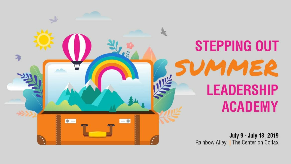 Rainbow Ally Stepping Out: Summer Leadership Academy 2019