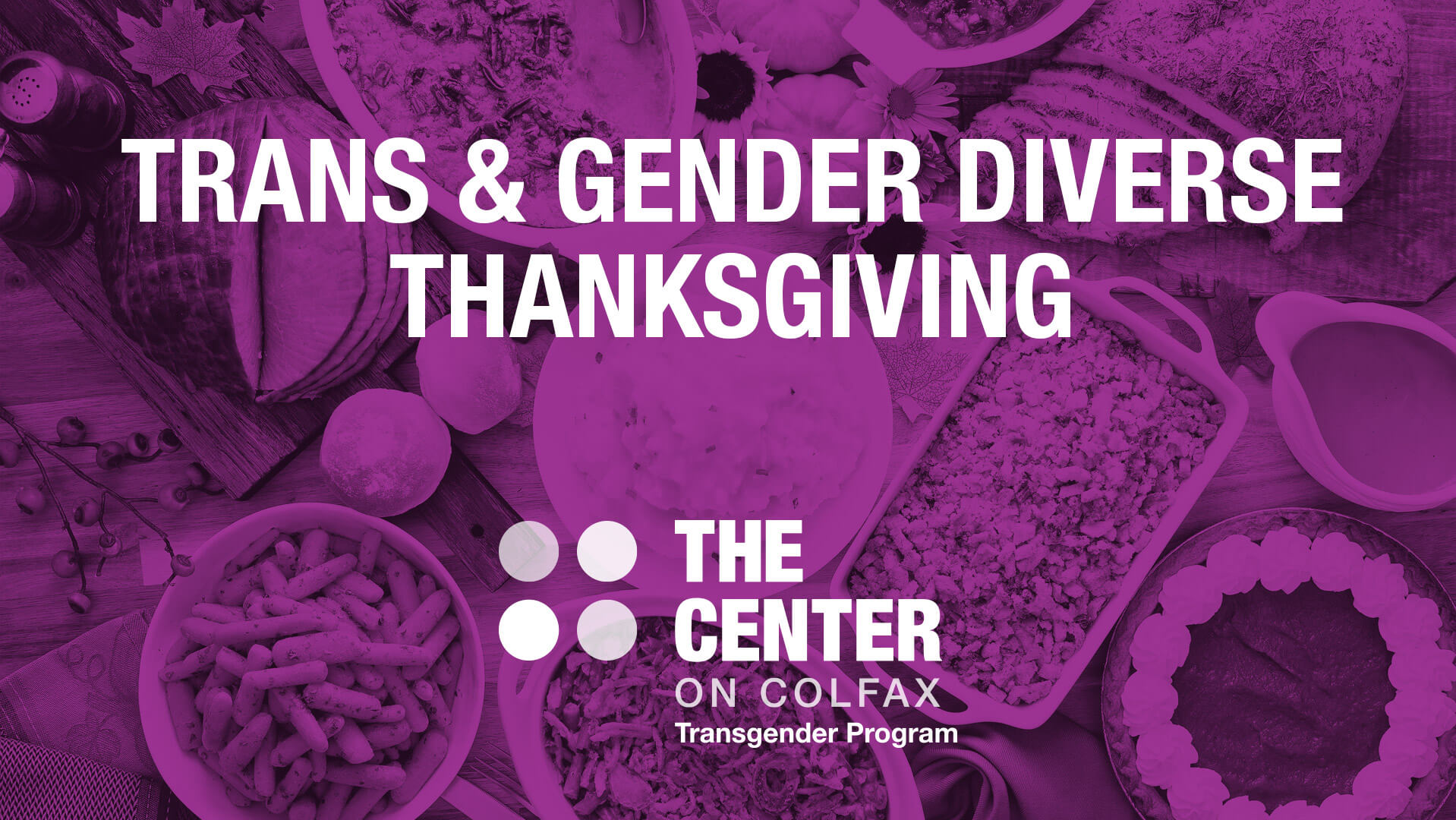 Trans & Gender Diverse Thanksgiving